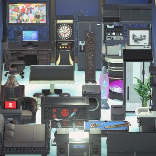 Bundle | 40 DARK MODERN Furniture