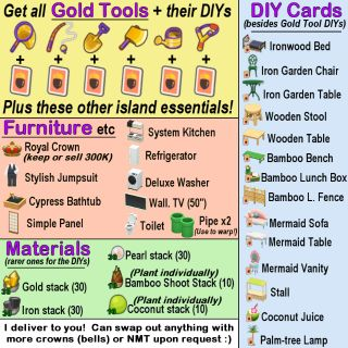 Bundle | GOLD TOOLS & much more!