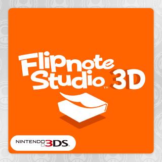 Flipnote Studio 3D (instant delivery)