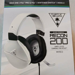 BNIB TURTLE BEACH RECON 200 HEADSET