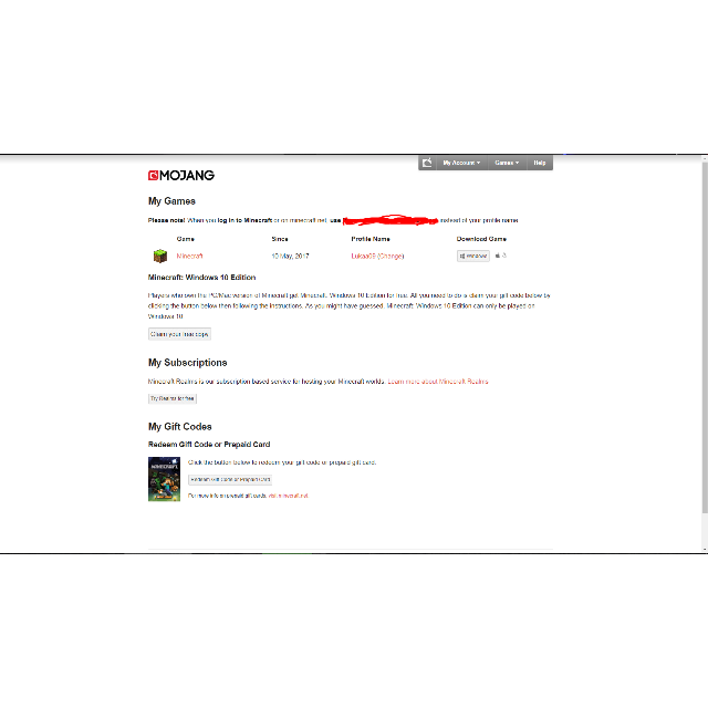 Minecraft Premium Account + Security Questions - Other Games - Gameflip