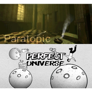 2 Games: Paratopic and Perfect Universe
