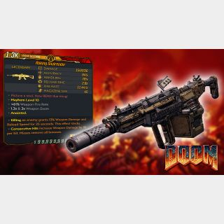 Weapon | Doom Rifle
