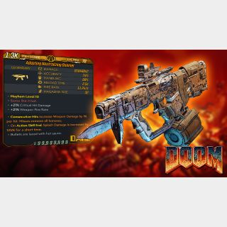Weapon   Modded Doom SMG • Boomer