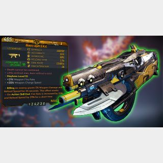Weapon | Level 1 Modded DNA!!!