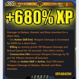 Artifact   +680% XP