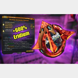 Artifact   +600% Eridium