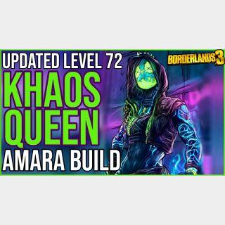 Weapon   Khaos Queen Amara Build