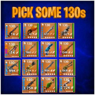 Bundle | Pick 10x 130