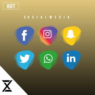 I will Design for your social media page/account (including Logo/cover/profile picture