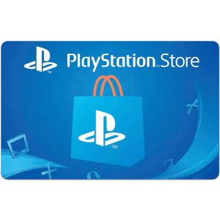 $10.00 PlayStation Store Gift Card