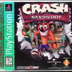 Crash Bandicoot (Greatest Hits) (PlayStation 1)