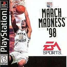 March Madness 98' (PlayStation 1)