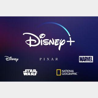 12 Month Disney Plus Subscription Code ($70 Worth)