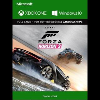 Forza Horizon 3 XBOX One/Win 10 - KEY GLOBAL