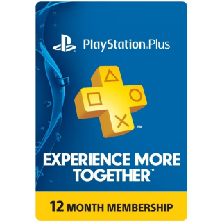 Playstation Plus 12 MONTHS PSN NORTH AMERICA
