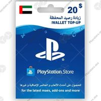 $20.00 PlayStation Store United Arab (UAE)