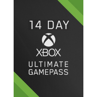 Xbox Game Pass Ultimate (Live  Gold + Game Pass) 14 day
