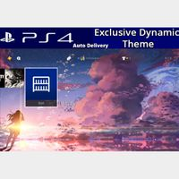 Space Fantasy Dynamic Theme - PS4 Asia Instant Delivery