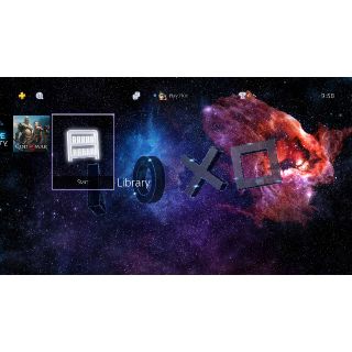 Symbols in the Stars Dynamic Theme - PS4 UK Instant Delivery