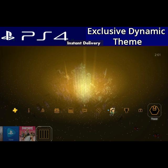 Rez Infinite   Area X  Dynamic Theme PS4 US Instant Delivery