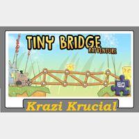 Tiny Bridge Ratventure  (2 for $1.10)