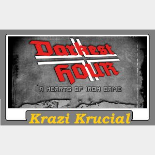 Darkest Hour A Hearts of Iron Game (2 For $1.10)