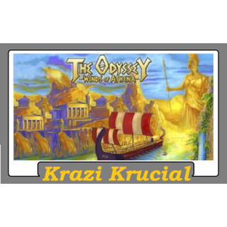 The Odyssey Winds of Athena (2 for $1.10)