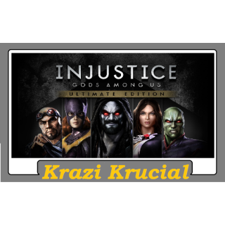 Injustice Gods Among Us Ultimate Edition (NOT RU / CIS)