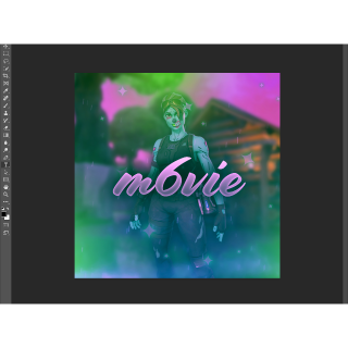 I will make you a fortnite logo with any skin and setting