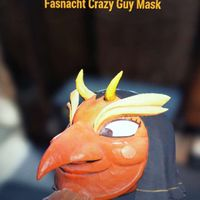 Apparel | Fasnacht Crazy Guy Mask