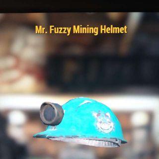 Apparel | Mr. Fuzzy Mining Helmet