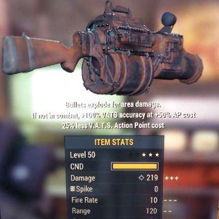 Weapon | STALK E/25 Railway Rifle