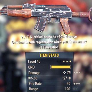Weapon | V 50/+1P Handmade