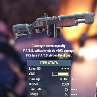 Weapon | Q 50/25 Combat Shotgun