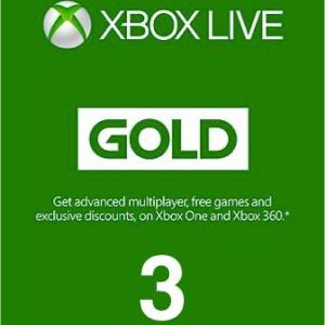 Xbox Live Gold 3 Month EU (Will send ASAP!)
