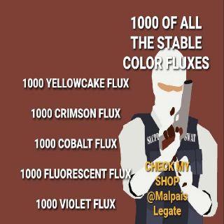 Junk | 1000 Of Each Flux