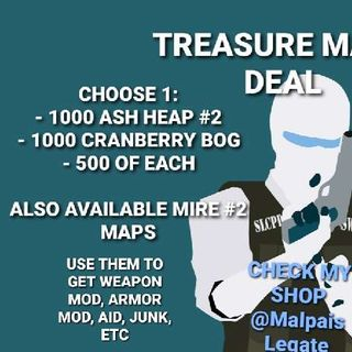 Other   1000 Treasure Maps Deal