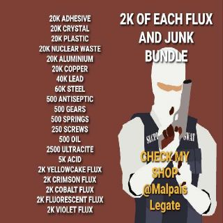 Junk   Huge Flux & Junk Deal