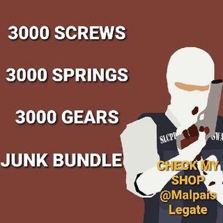 Junk | 3k Screws Springs Gears
