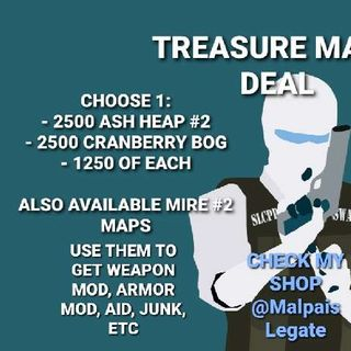 Other   2500 Treasure Maps Deal