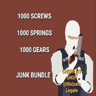 Junk | 1k Screws Springs Gears