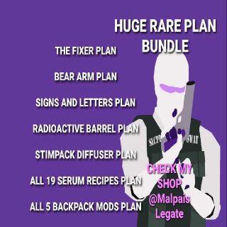 Plan | Huge Rare Plan Bundle