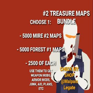Other   5000 Treasure Maps Deal