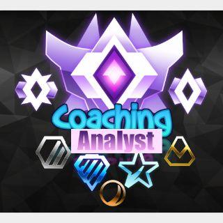 Coaching / Analyst / Carrying (GC 2000mmr)