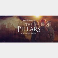 Ken Follett's The Pillars of the Earth EU STEAM INSTANT!!!!