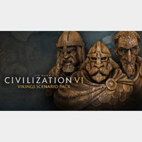 Civilization VI - Vikings Scenario Pack Steam EU INSTANT!!!!
