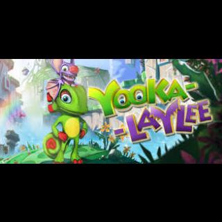 Yooka-Laylee EU STEAM INSTANT!!!!