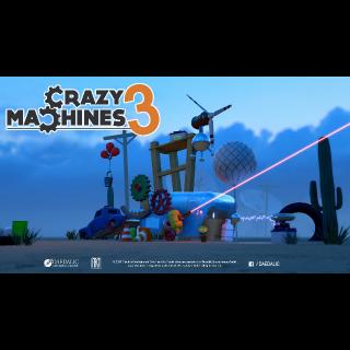 Crazy Machines 3 EU STEAM KEY INSTANT!!