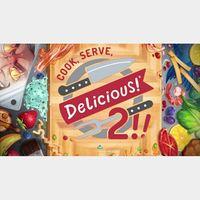 Cook, Serve, Delicious! 2!! EU INSTANT STEAM